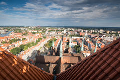 Gdansk panorama Stock Photography