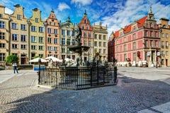 Gdansk-Papierlösekorotron Stockfotos