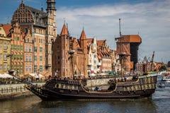 Gdansk, Polônia Imagens de Stock Royalty Free
