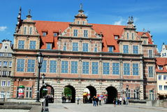 Gdansk, Poland: 1564-68 Green Gate stock image