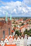gdansk poland Royaltyfri Fotografi