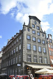 Gdansk,Poland-august 25:Historic Building downtown in Gdansk from Poland stock photo