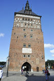 Gdansk,Poland-august 25:Prison Tower in Gdansk from Poland stock photography