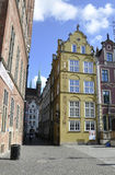 Gdansk,Poland-august 25:Royal Route building in Gdansk from Poland Stock Photos