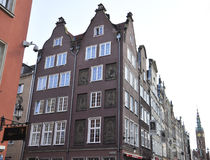 Gdansk,Poland-august 25:Royal Route building in Gdansk from Poland Stock Photography