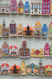 GDANSK, POLAND - AUGUST 04,2017: Souvenir magnets of the cities. Of Gdansk Royalty Free Stock Photography