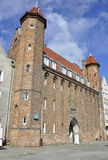 Gdansk,Poland-august 25:Straganiarska (Huckster) Gate in Gdansk from Poland Stock Image