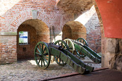 Gdansk, Poland, August 27, 2016: Wisloujscie Fortress - Polish historic fort. Stock Photography