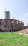 Gdansk, Poland, August 27, 2016: Wisloujscie Fortress - Polish historic fort. Royalty Free Stock Image