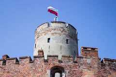 Gdansk, Poland, August 27, 2016: Wisloujscie Fortress - Polish historic fort. Stock Images