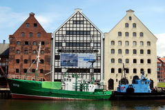Gdansk, Poland: Central Maritime Museum Stock Image