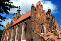 Gdansk, Poland: Church of St. Catherine Royalty Free Stock Image