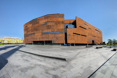 Gdansk, Poland. The ECS museum, memorial of anti-communist opposition Royalty Free Stock Photography