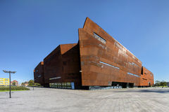 Gdansk, Poland. The ECS museum, memorial of anti-communist opposition Royalty Free Stock Image