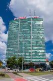 Gdansk, Poland - June 14, 2017: Building of Zieleniak Business Center in city center of Gdansk. stock photos