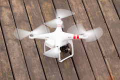 GDANSK, POLAND   MARCH 01, 2014: drone with camera Stock Image