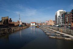 Marina in Gdansk Royalty Free Stock Photos