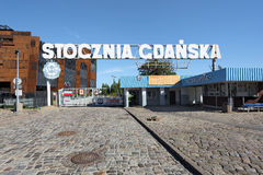 GDANSK, POLAND - Monument of the Fallen Shipyard Workers Royalty Free Stock Photos