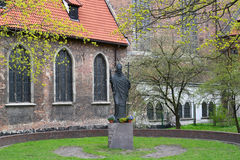 Gdansk, Poland. Monument to Sacred Wojciech Royalty Free Stock Images