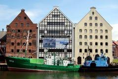 Gdansk, Poland: Museu marítimo central Imagem de Stock