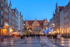 gdansk poland royaltyfria foton