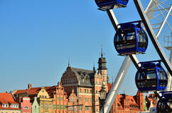 Gdansk in Poland Royalty Free Stock Images