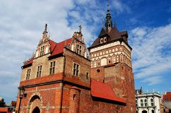 Gdansk, Poland: Prison Tower Royalty Free Stock Photos