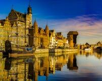 Gdansk,Poland,September 2016:Cityscape of Gdansk in Poland Stock Photography