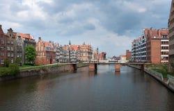 Gdansk, Polen. Stockbild