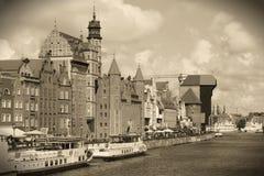 Gdansk Polen Fotografering för Bildbyråer