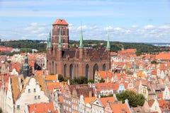 Gdansk - Polen Stock Foto's