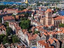 Gdansk, Polen Stockfotos