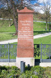 Gdansk, Polen - 18. April 2017: Klawitter-Familiengrab in Gdansk Lizenzfreie Stockfotos