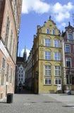 Gdansk, Polen 25. August: Königliches Weggebäude in Gdansk von Polen Stockfotos