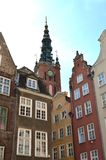 Gdansk Polen byggnadsstad Hall Pinnacle Tom Wurl Royaltyfria Foton