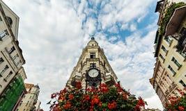Gdansk, Polen - 7. Mai 2015: altes Stadtzentrum von Gdansk, in Polen lizenzfreie stockbilder
