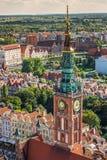 Gdansk, Polen September 19,2015: Bunte Häuser - Wohnungen herein Stockfoto