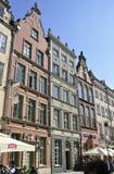 Gdansk, Polonia 25 de agosto: Edificios reales de la ruta en Gdansk de Polonia Fotografía de archivo libre de regalías