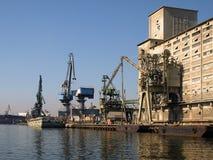 gdansk port Zdjęcie Royalty Free