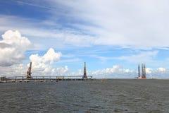 gdansk port Zdjęcie Stock