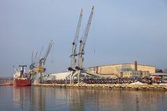 gdansk port Poland Zdjęcia Royalty Free