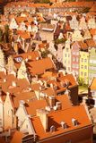 Gdansk retra Imagen de archivo
