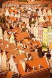Gdansk retro Imagem de Stock