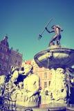 Gdansk Retro- Stockfotografie