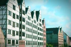 Gdansk retro Imagem de Stock Royalty Free
