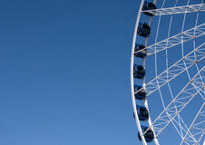 Gdansk's ferris wheel Royalty Free Stock Photos