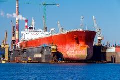 Gdansk. Sea port. Stock Images