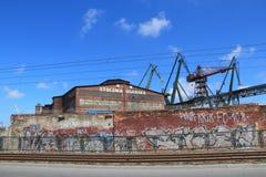 Gdansk Shipyard Royalty Free Stock Photography
