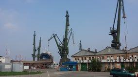 Gdansk Shipyard, Poland Stock Images