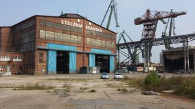 Gdansk Shipyard, Poland Stock Photography